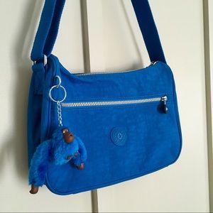 Kipling beloved blue cross body shoulder bag